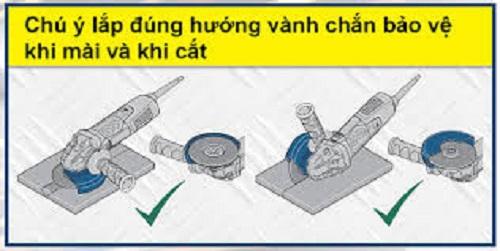 Sử dụng máy cắt đúng cách